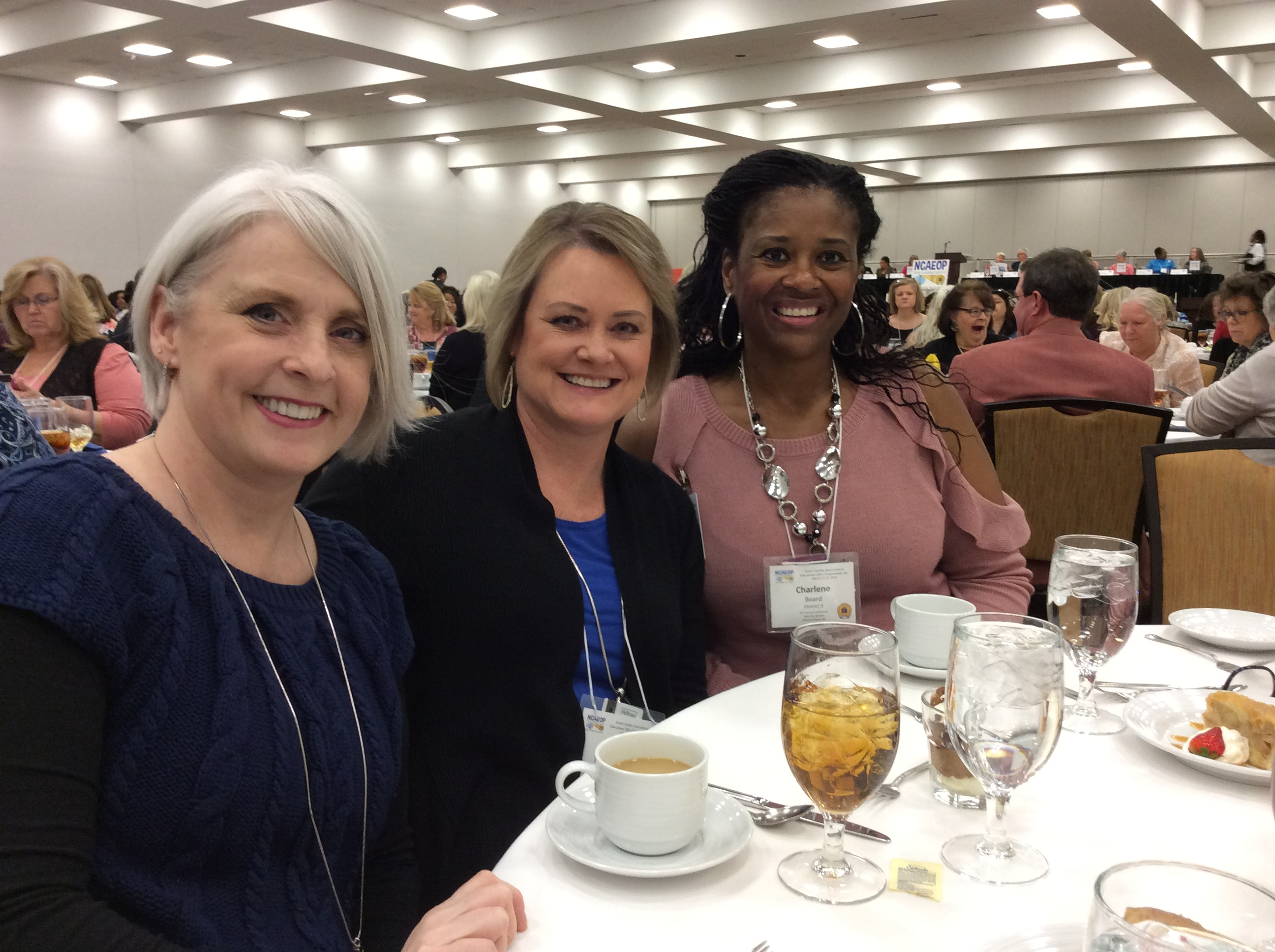 Stacey came for Heidi's PSP Award Luncheon